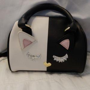 Betsey Johnson Cat Purse